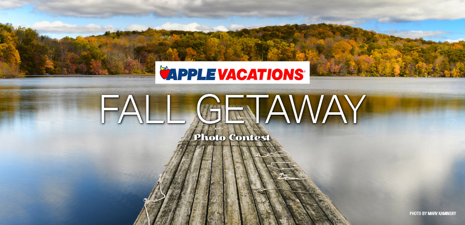 Apple Vacation's Fall Getaway Photo Contest