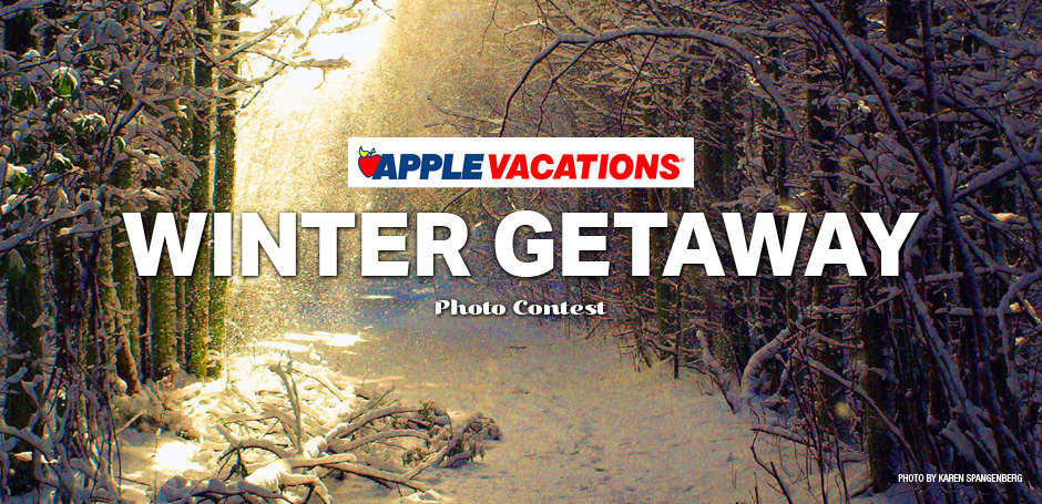 Apple Vacation's Winter Getaway Photo Contest